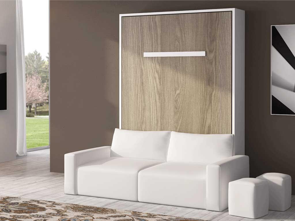 Cama abatible vertical con sof by muebles san antonio - Camas abatibles 135 ...
