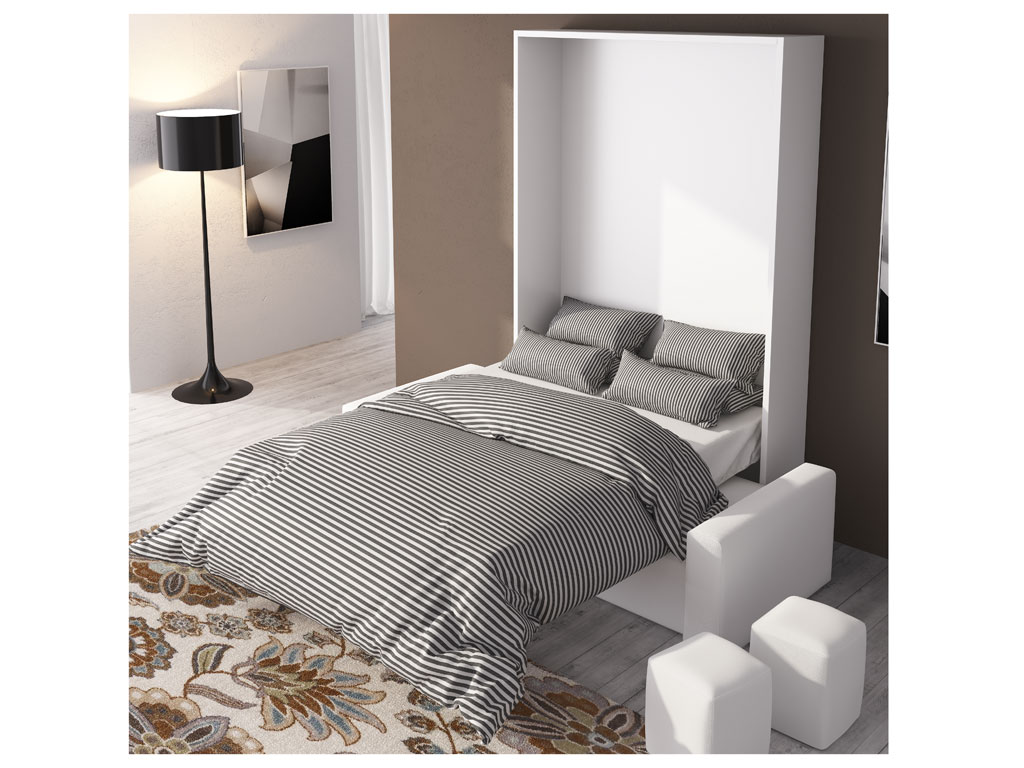 Cama abatible vertical con sof by muebles - Camas de 120 ...