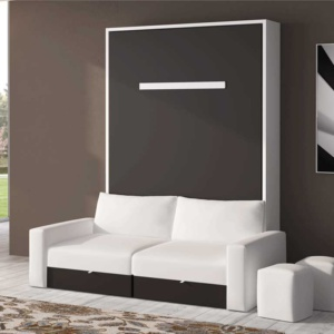 Cama abatible con sofá