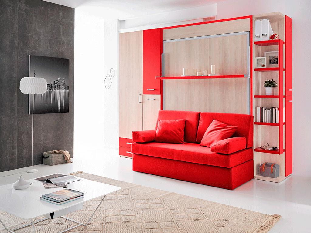 Cama abatible con sof modelo italy by muebles san antonio Sofas divatto precios