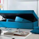 Cama abatible con sofá arcón