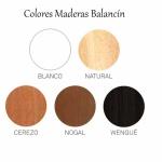Colores madera balancín