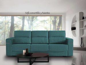 Sofá cama Modelo Convertible.Transporte gratuito