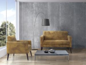 Sillon y sofa vintage