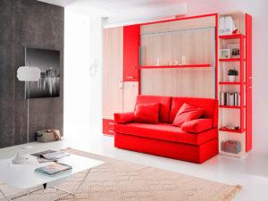 Cama abatible con sofa Venecia