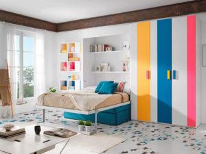 Cama abatible Venecia colores